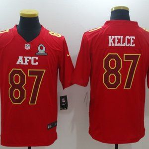 Men's Kansas City Chiefs #87 Travis Kelce Jersey
